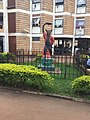 A simble of power moument in front of mitchel hall at Makerere University.jpg