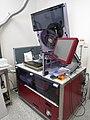 A smoking apparatus used to analyze cigarettes that simulates human smoking in CAFIA laboratory, Czech Republic.jpg