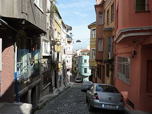 Fener, Fatih - A street in Fener