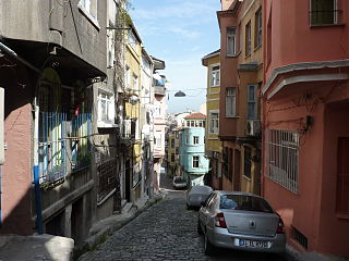 Fener Quarter in Marmara, Turkey