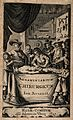 A surgeon setting a leg with the aid of three assistants, ob Wellcome V0010440.jpg
