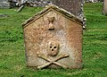 A symbolic stone in Channelkirk Churchyard - geograph.org.uk - 894726.jpg