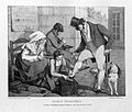 A young boy is cleaning the shoes of a man dressed in fine c Wellcome L0007520.jpg