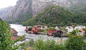 Sokndal - Village of Åna-Sira