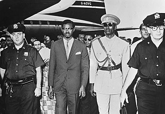 Patrice Lumumba - Lumumba arriving in New York on 24 July 1960