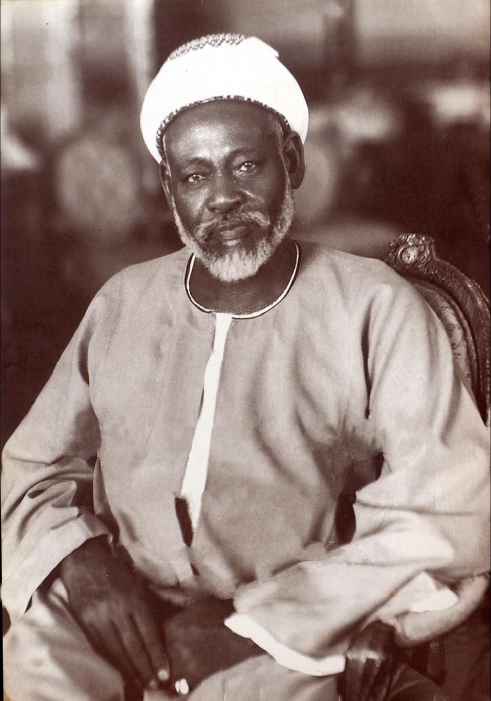Abd al-Rahman al-Mahdi Seated