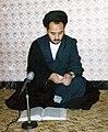 Abdul Karim Hashemi Nejad in Islamic Republican party HQ of Mashhad, hours before assassination on 29 September 1981.jpg