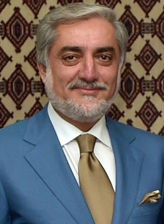 Chief Executive (Afghanistan) - Image: Abdullah Abdullah August 2014 (cropped)