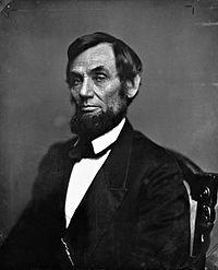 Portrait Art Civil War President . First Abraham Lincoln President PHOTO 1861