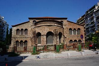 Church of the Acheiropoietos - Backside view