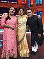Actress Laxmi and Pasha sallauddin.jpg