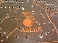 AdLib Logo as found on the Gold 1000