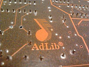 Ad Lib, Inc. - AdLib Logo as found on the Gold 1000