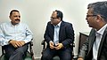 Aditya V. Agarwal and the Director General, ICC, Dr. Rajeev Singh calling on the Minister of State for Development of North Eastern Region (IC), Prime Minister's Office, Personnel, Public Grievances & Pensions.jpg