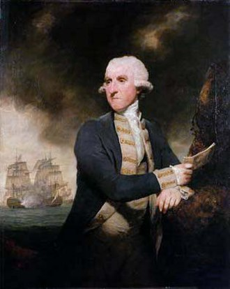 1783 in art - Image: Admiral Hood 1783