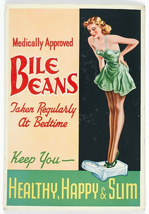 Bile Beans - Image: Advert; Medically approved Bile Beans Wellcome L0044201