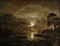 Aert van der Neer - Moonlight at a Dutch River.jpg
