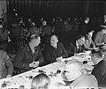 Afscheidsdiner Militair Gezag voor chef-staf generaal H.J. Kruls. Derde van link, Bestanddeelnr 901-2040.jpg