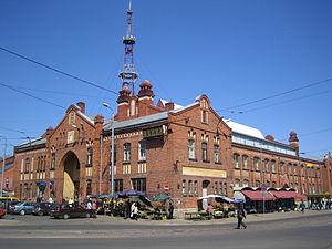 Āgenskalns - Agenskalns marketplace