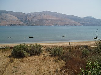 Agios Dimitrios, Cephalonia - The Beach at Agios Dimitrios