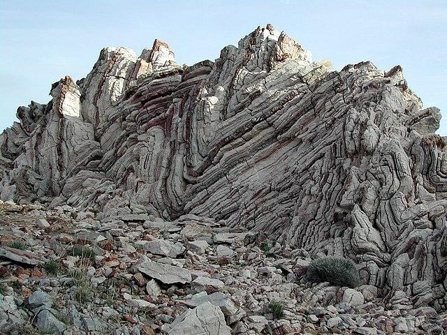 Zvrásnené horniny
