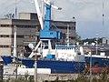 Agot and Rix Pacific at Quay 36 in Port of Paljassaare Tallinn 4 August 2017.jpg