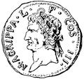 Agrippa, Marcus Vipsanius, Nordisk familjebok.png