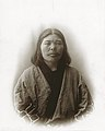 Ainu Woman from Japan with the Department of Anthropology at the 1904 World's Fair.jpg
