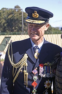 Senior Royal Australian Air Force officer, former Chief of the Defence Force