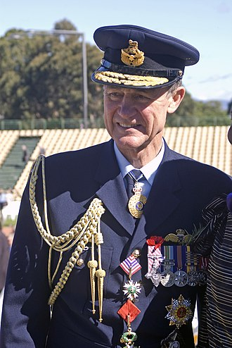 Angus Houston - Angus Houston at the 2010 Anzac Day National Ceremony, Canberra.