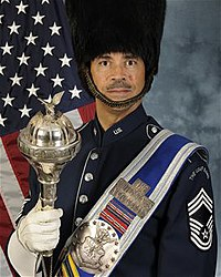 Air Force Drum Major