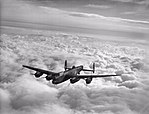 Aircraft of the Royal Air Force 1939-1945- Avro 683 Lancaster. CH21121.jpg
