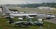 Aircraft on the lawn at the Museum of Flight (6193815907).jpg