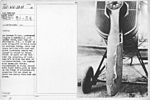 Airplanes - Accidents - On October 6, 1919, Lieutenant Chanles B. Austin, A. S., left France Field, canal zone, for Washington, D.C., a flight of 2439 miles, 1350 of which would be over-sea flying. After ten hour-...- - NARA - 17338189.jpg