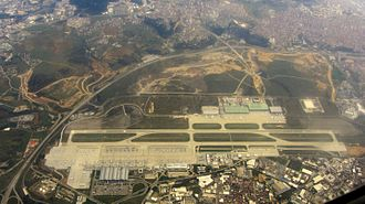 Sabiha Gökçen International Airport - Image: Airport Sahiba Gökcen from Air