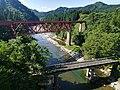 Akita Nairiku Line Omatagawa bridge 2018a.jpg