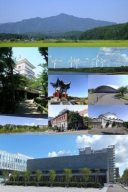 Mount Taihei, Kubota Castle, Akita-Araya Wind Farm, Hitotsumori Park, Akita Skydome, Akita Museum of Art, Akita Akarengakan Museum, Akita City Gymnasium