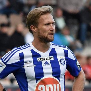 Akseli Pelvas Finnish footballer