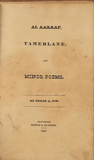 Al Aaraaf - Al Aaraaf, Tamerlane, and Minor Poems (1829)