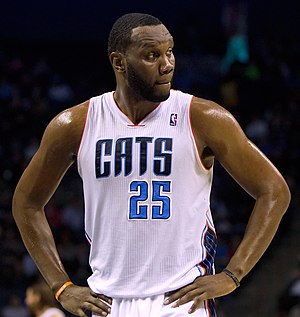 Al Jefferson - Jefferson with the Bobcats in 2014