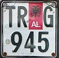 Albania motorcycle plate 03.jpg
