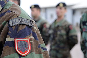 Albanian Armed Forces - Albanian Army badges