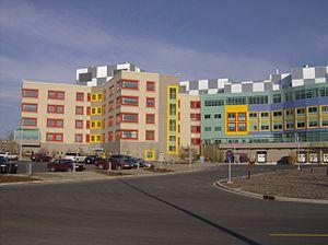 Alberta Children's Hospital in Calgary, Albert...