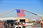 Albuquerque Fire Department ladders displaying the colors. (6967382870).jpg
