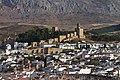 Alcazaba de Antequera, desde el norte de la ciudad.jpg