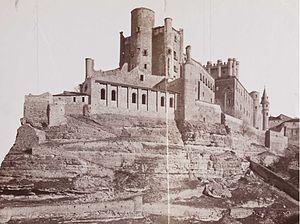 Alcázar of Segovia - A 19th-century photograph, by J. Laurent