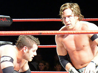 Alex Shelley et Chris Sabin en 2008.