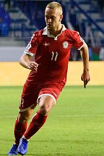 Alexander Michel Melki Lebanese-Swedish footballer