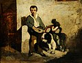 Alexandre-Gabriel Decamps (1803-1860) - The Blind Beggar - VIS.254 - Sheffield Galleries and Museums Trust.jpg