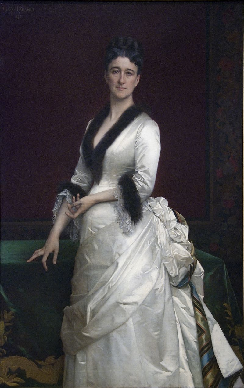 Portrait of Wolfe by Cabanel, 1876